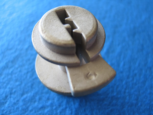 Cu Copper-Based Alloy Casting, Lock Hardware Cylinder, Security/Door/Lock Hardware Industry