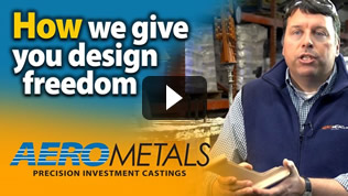 nvestment castings design freedom video link